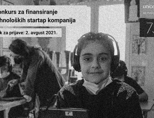 UNICEF-ov Inovacioni Fond otvara konkurs za finansiranje tehnoloških startap kompanija